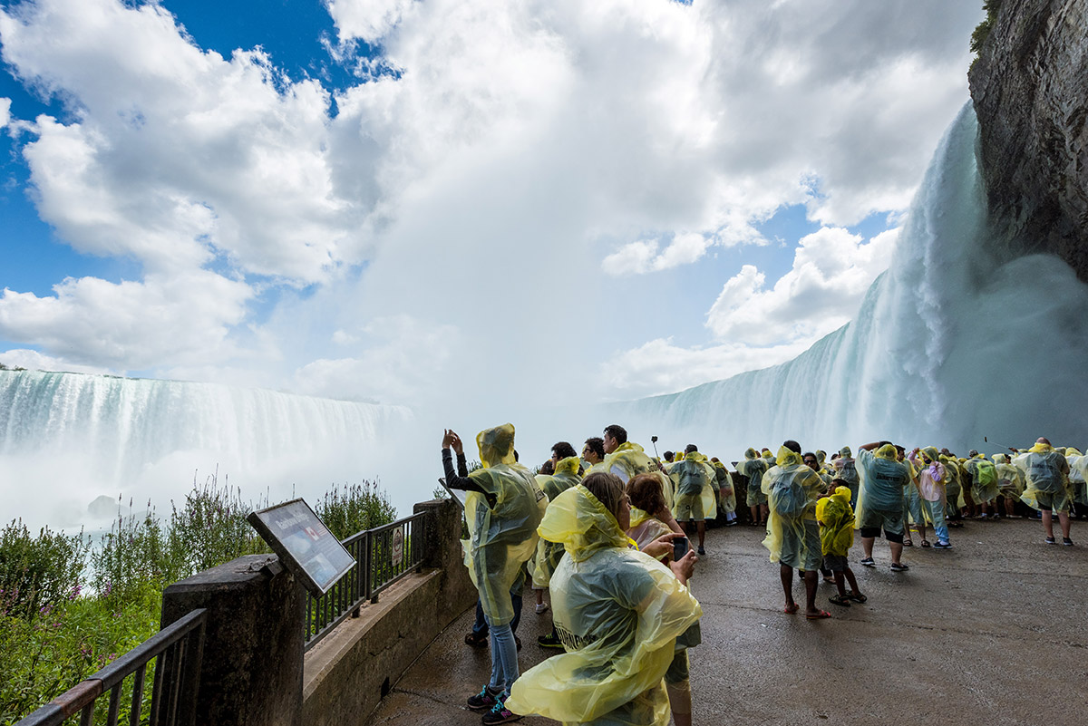 Bonjour Niagara: Journey Behind the Falls